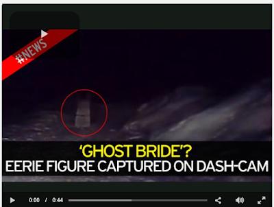 Ανατριχιαστικό: Φάντασμα νύφης στοιχειώνει δρόμο όπου σκοτώθηκε νιόπαντρη πριν από 27 χρόνια!