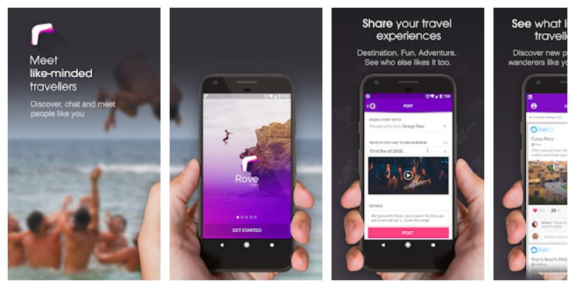 Meet travellers app