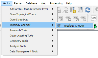Topology Checker Menu