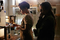 Carmen Ejogo and Riley Keough in It Comes At Night (2)