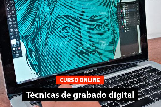 Curso Online. Aprende técnicas de grabado digital.