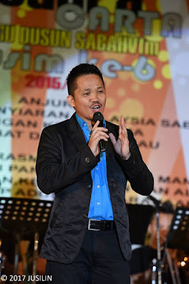 DJ Matinin Yukim Penerbit Pertandingan Akhir JCLD SabahVFM