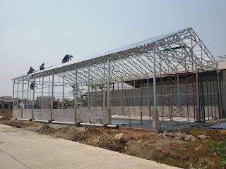 Jasa Rangka Atap Baja Ringan