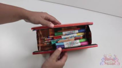 Lengkap Cara Membuat Tempat Pensil dari Sedotan Beserta Gambarnya