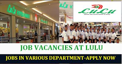 Lulu Hypermarket Jobs In Abu Dhabi