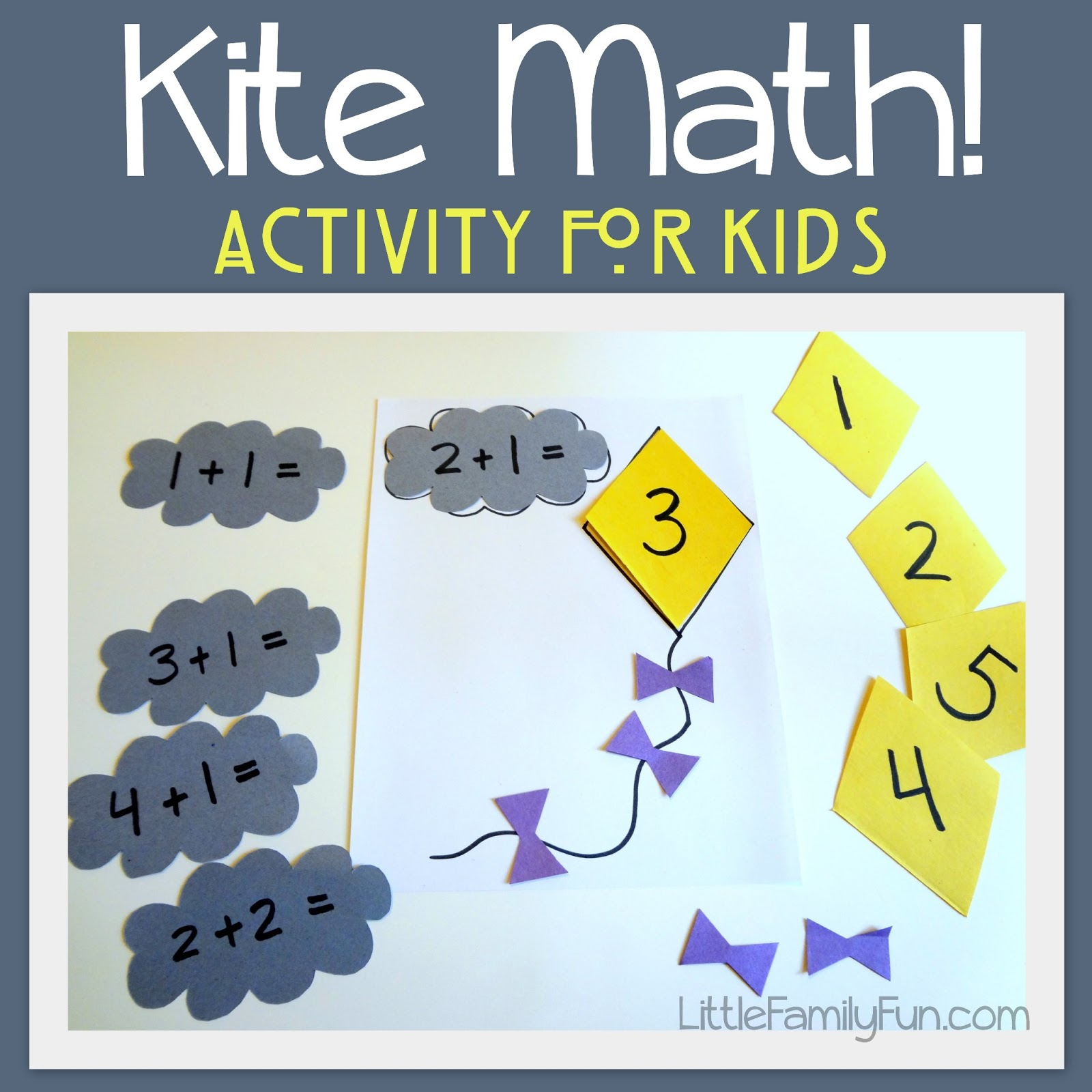 Little Family Fun Kite Math