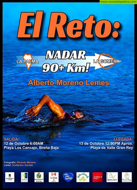 LOS CANCAJOS: El Reto: nadar 90+ km!