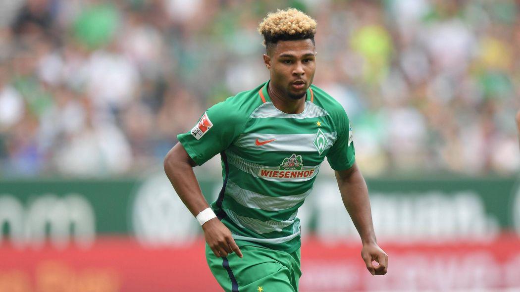 O Bayern de Munique anunciou neste domingo a contratação do jovem atacante  alemão Serge Gnabry 887d2c0920989