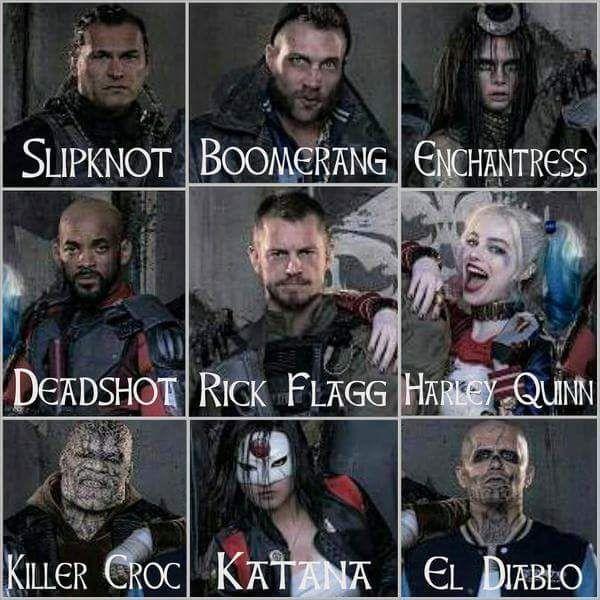 Foto dan Video Suicide Squad (2016)