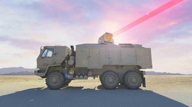 الجيش الأمريكي يطور سلاح ليزر 100 كيلو واط ، بمبلغ 130 مليون دولار