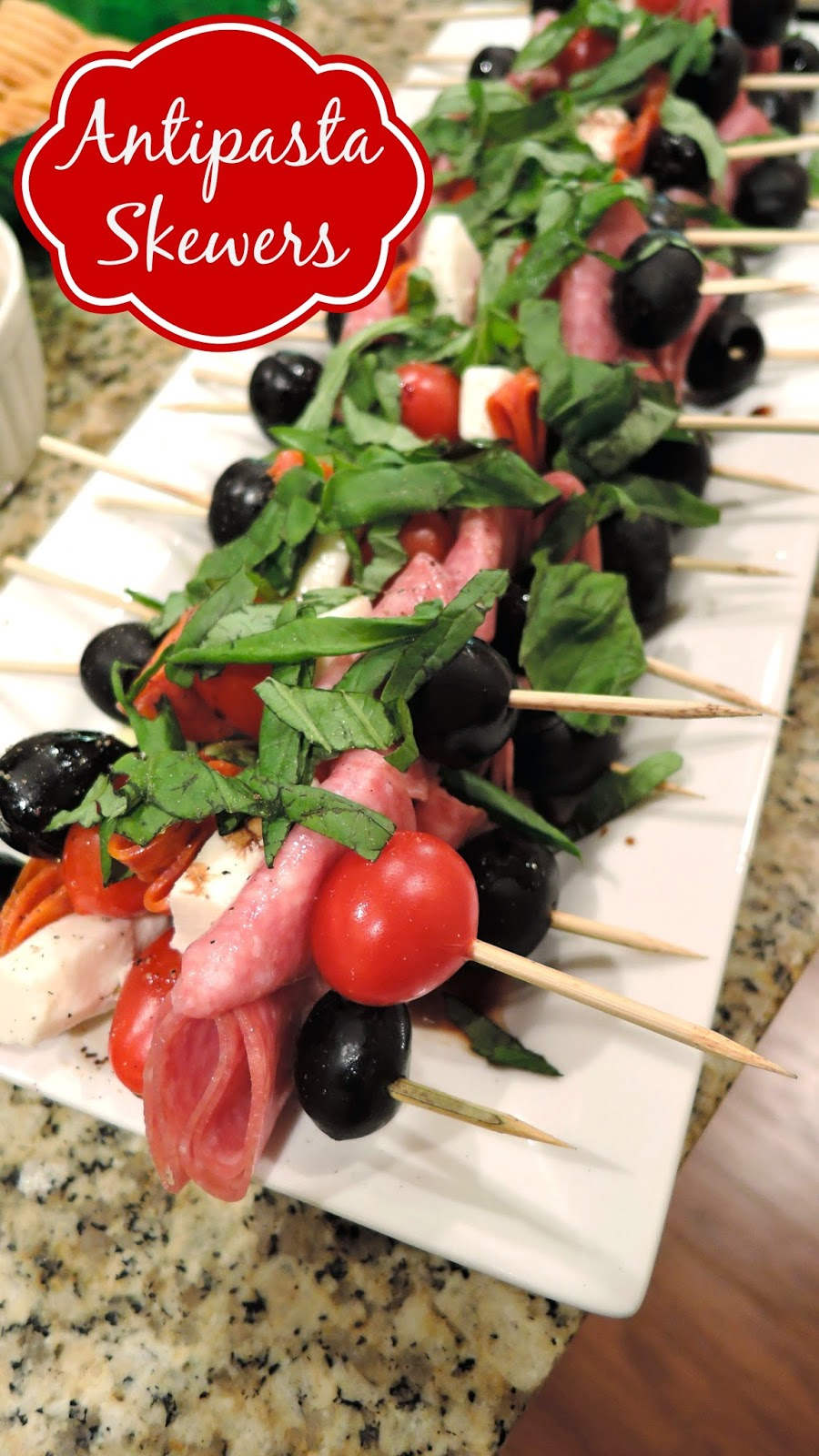 Antipasta Skewers