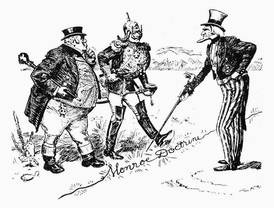 Edventures in Social Studies: Monroe Doctrine: Hands off