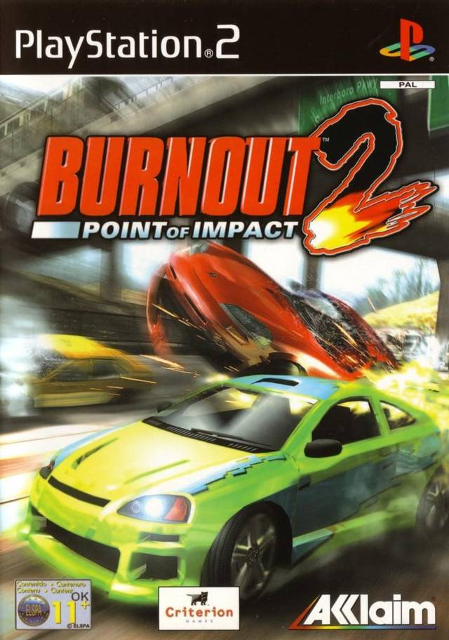 Burnout 2 Point of Impact PAL PS2