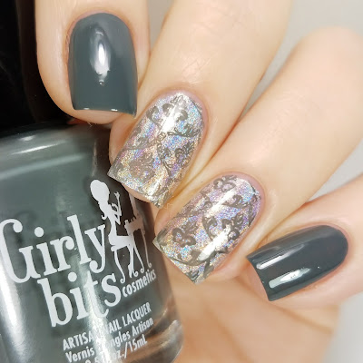 Girly Bits Cosmetics Greyzed and Confused Fall 2017 Collection Part 2 Swatches and Review