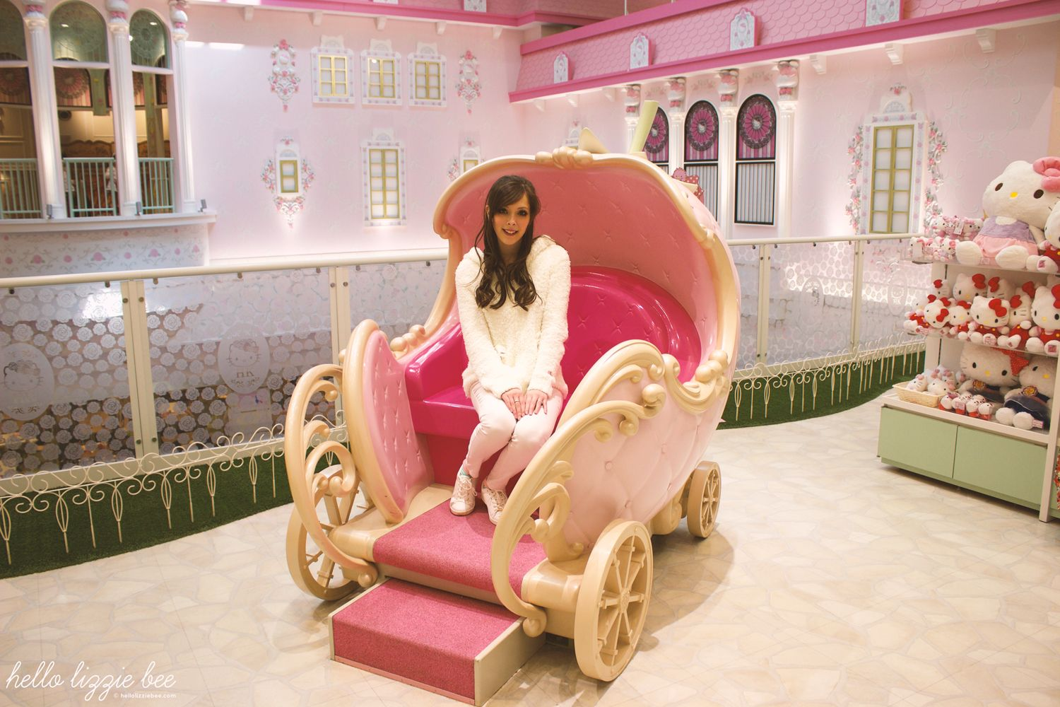 hello kitty carriage