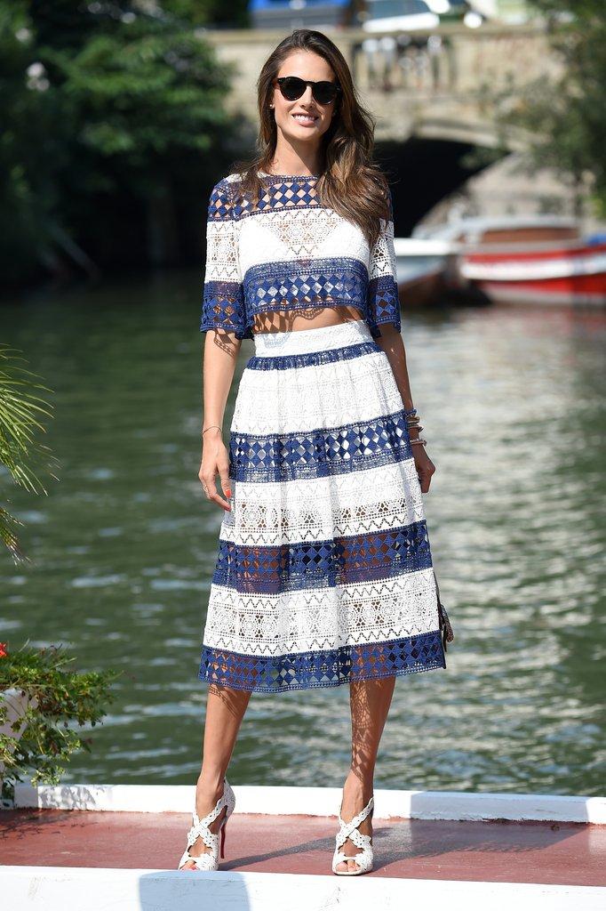 Alessandra Ambrosio street fashion