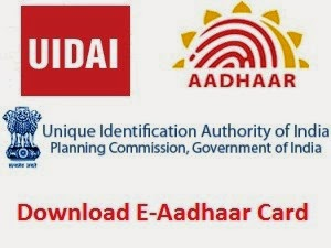 aadhar card download online