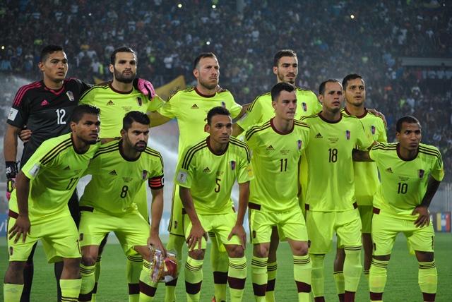Formación de Venezuela ante Chile, Clasificatorias Rusia 2018, 29 de marzo de 2016