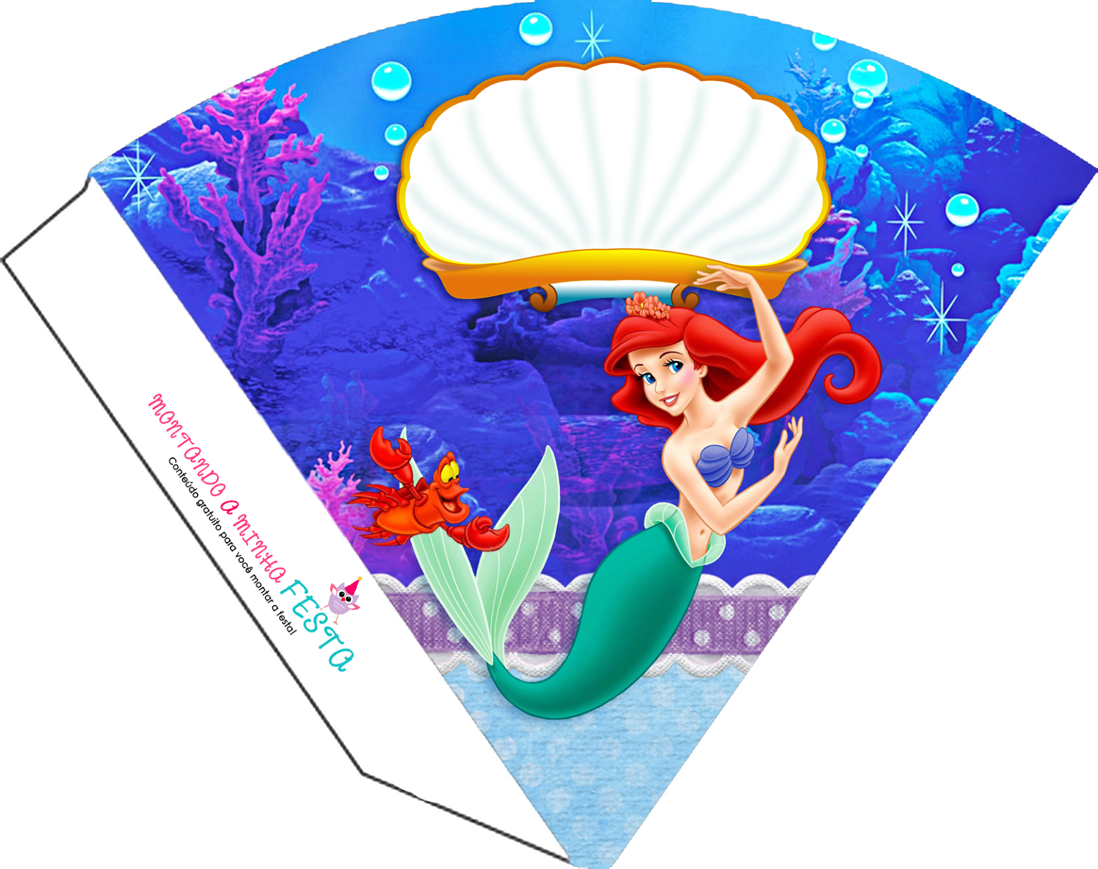 The Little Mermaid Birthday Free Party Printables