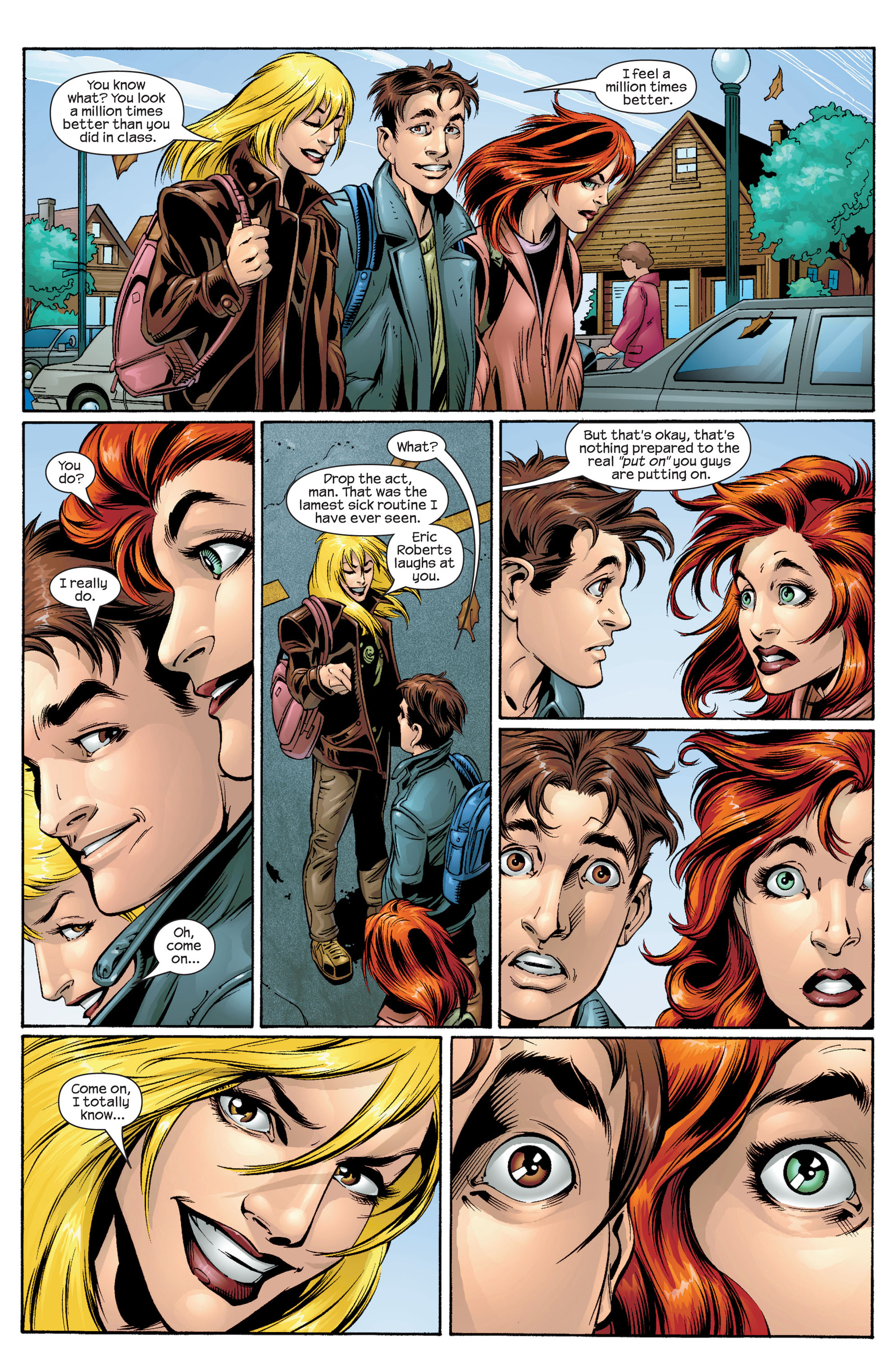 Read online Ultimate Spider-Man (2000) comic -  Issue #31 - 10