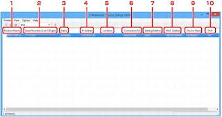 PIXMA TS6151 IJ Network Device Setup Utility