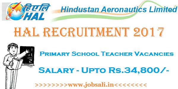HAL Careers, Teaching jobs in Bangalore, HAL Vacancy