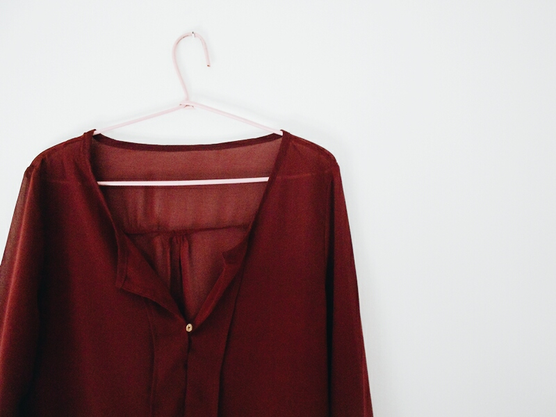 NEW IN \ Burgundy Shirt From Blackfive