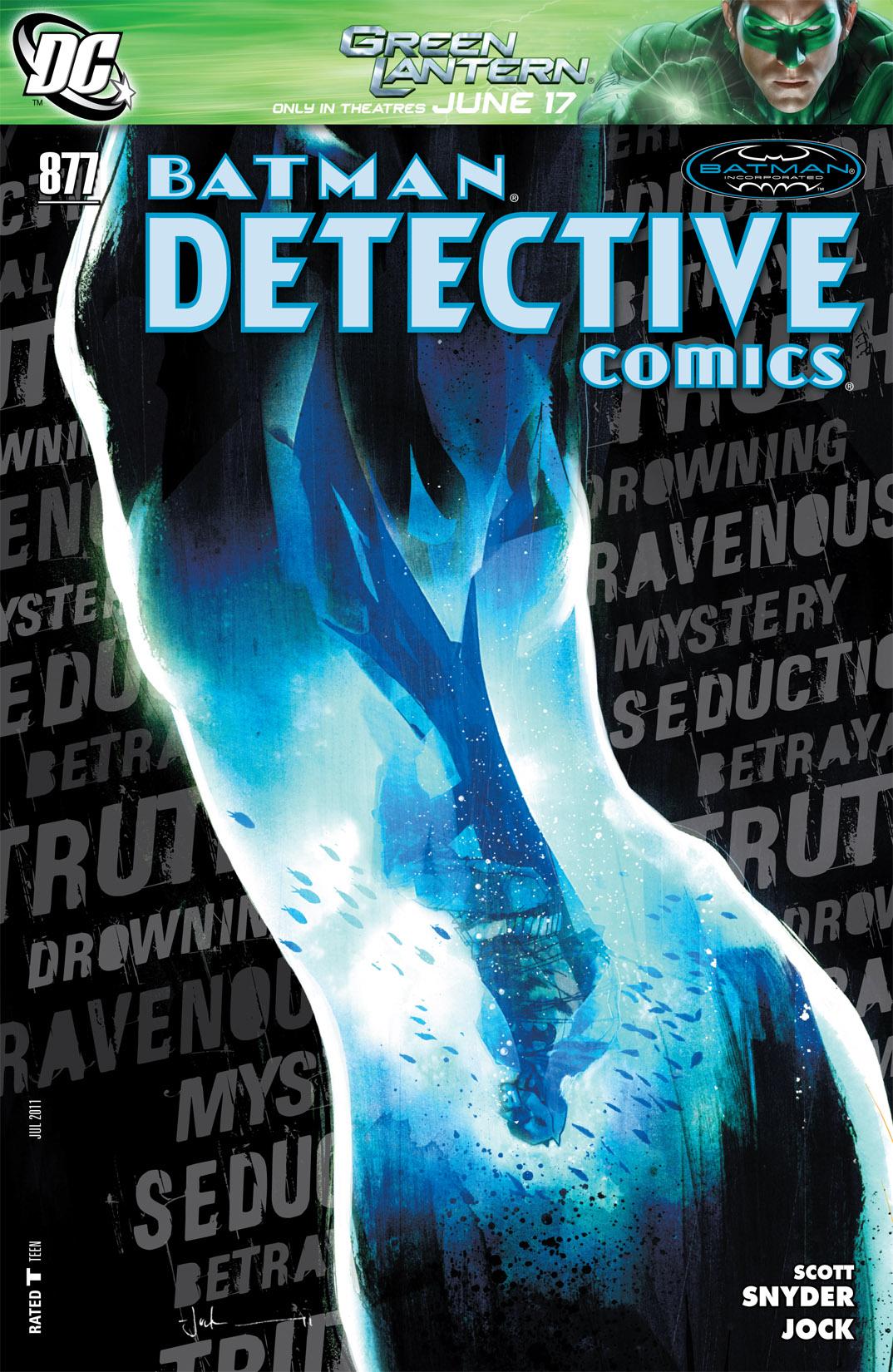 Detective Comics (1937) 877 Page 0