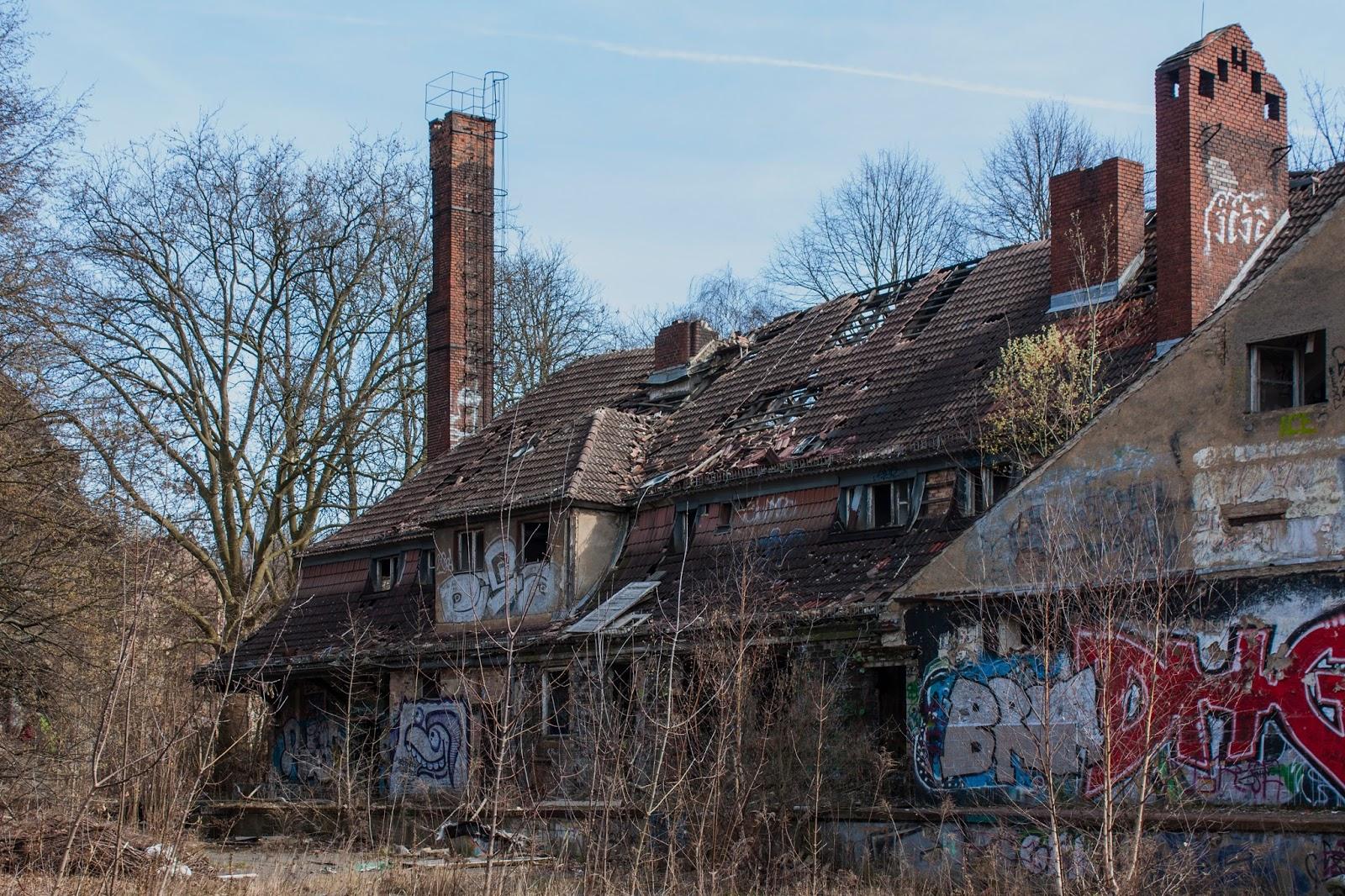 gruselige verlassene orte