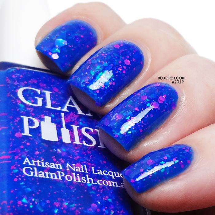 xoxoJen's swatch of Glam Polish Beware Of Hitchhiking Ghosts