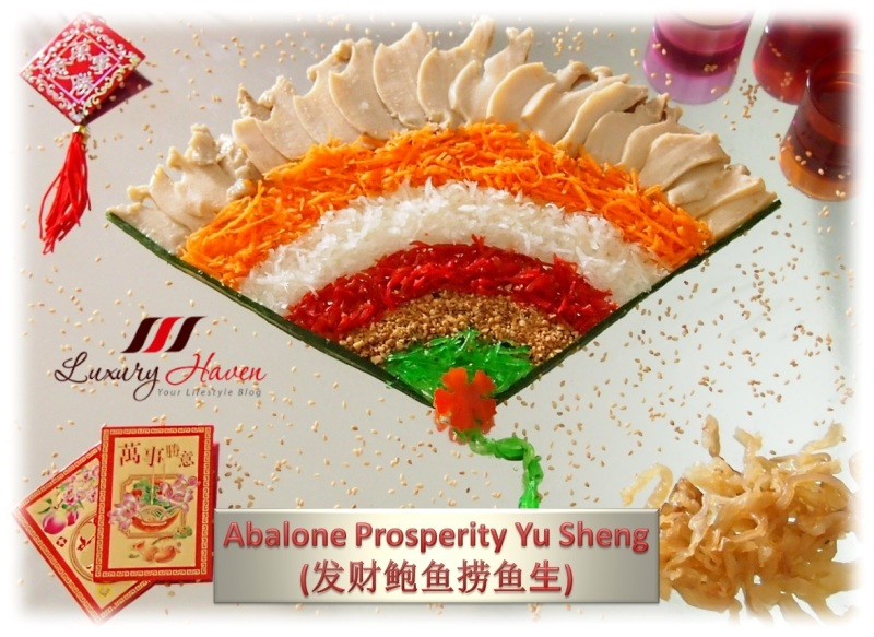 chinese new year new moon abalone prosperity yusheng
