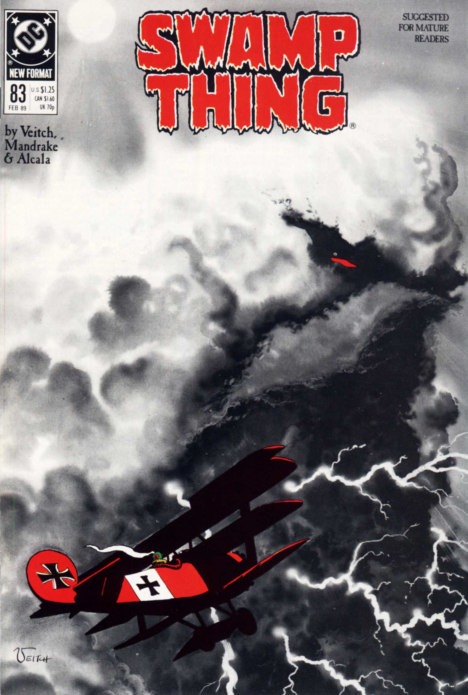 Swamp Thing (1982) Issue #83 #91 - English 1