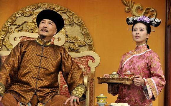 Liu Shi Shi and Damien Lau in c-drama Scarlet Heart aka Bu Bu Jing Xin