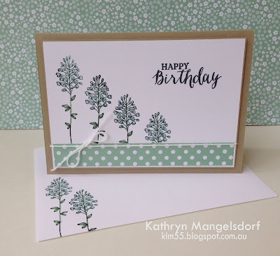 Kathryn's Stampin' World - Stampin' Up! Flowering Fields, 2016SaleABration