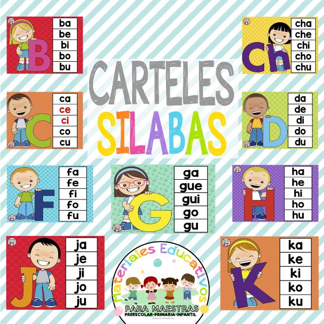 carteles-silabas-aprendizaje-niños