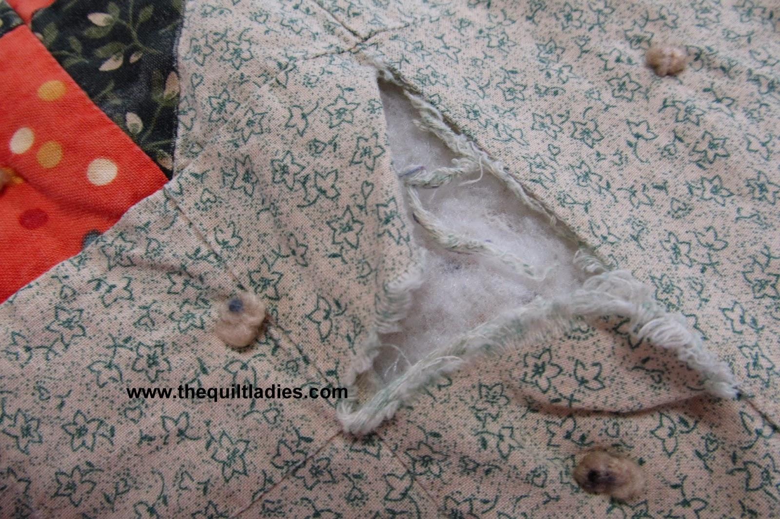 old quilt repair