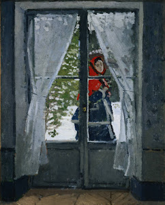 Claude Oscar MONET - THE RED KERCHIEF
