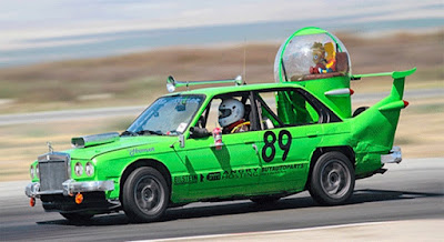 Prototipo, Carlos Rallo Badet, coche vert, Homer Simpson