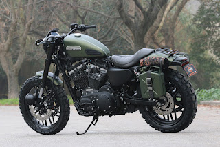 xl 1200 cx roadster tracker by hd jesi side left