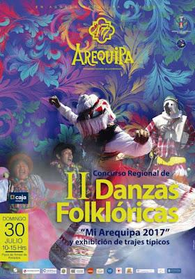Programa de Festejos Aniversario Arequipa 2017