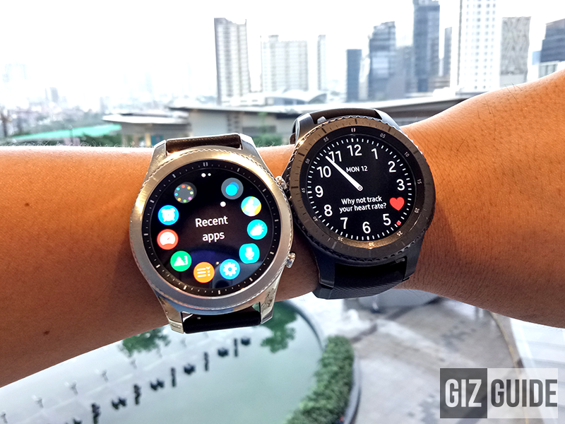 samsung gear s3 classic and frontier first impressions. Black Bedroom Furniture Sets. Home Design Ideas