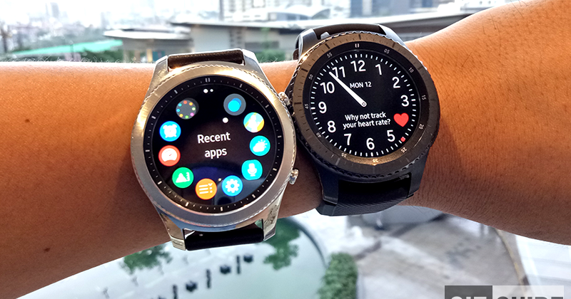 Samsung Gear S3 Classic And Frontier First Impressions ...
