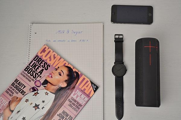 Ablenkungen wie z.B. Zeitschriften, Handys und Musik sollte man beim lernen verbannen