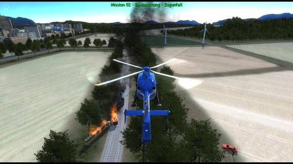 Police Helicopter Simulator PC Full Español