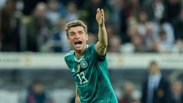 Germany uphold Thomas Mueller, Mats Hummels vs Austria for warm-up play