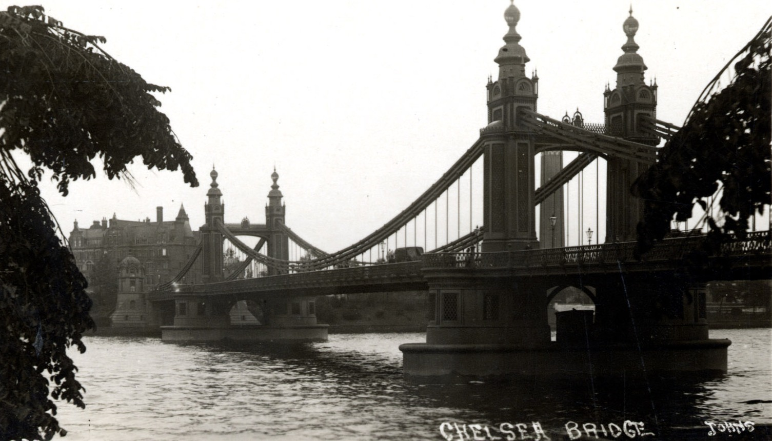 Building The Chelsea Bridge 1936 Vintage Everyday