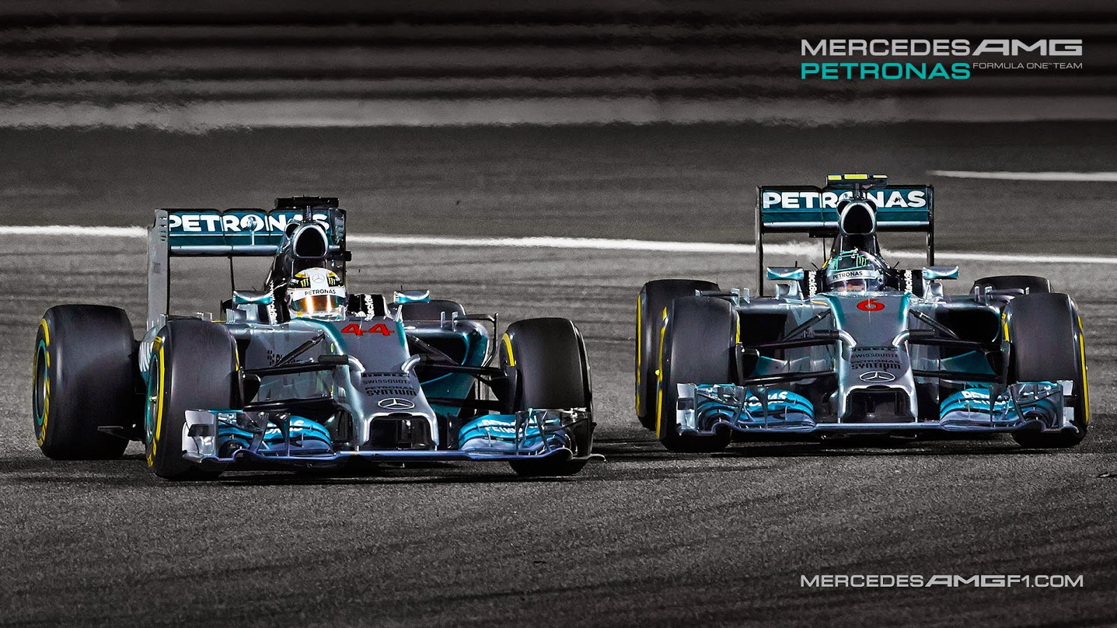 Mercedes amg petronas f1 team wallpaper 9