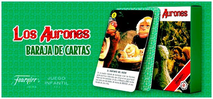 Baraja Los Aurones Heraclio Fournier 1987