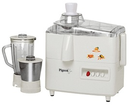 Pigeon Orchid 450-Watt Juicer Mixer Grinder (White) for Rs.1939 Only @ Shopclues (Lowest Price)