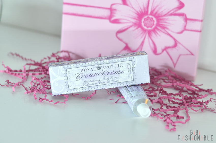 Glossybox Love is the Air Royal Apothic Bodylotion